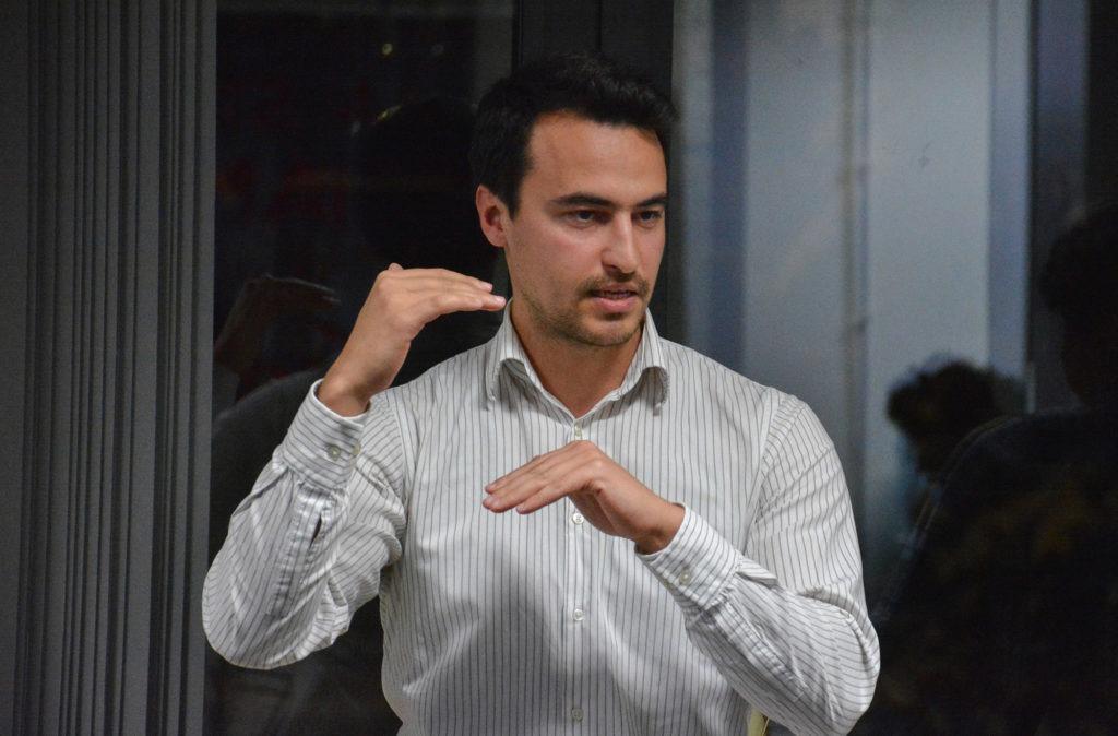 Калоян Карамитов е един от участниците по време на националния форум Таляна
