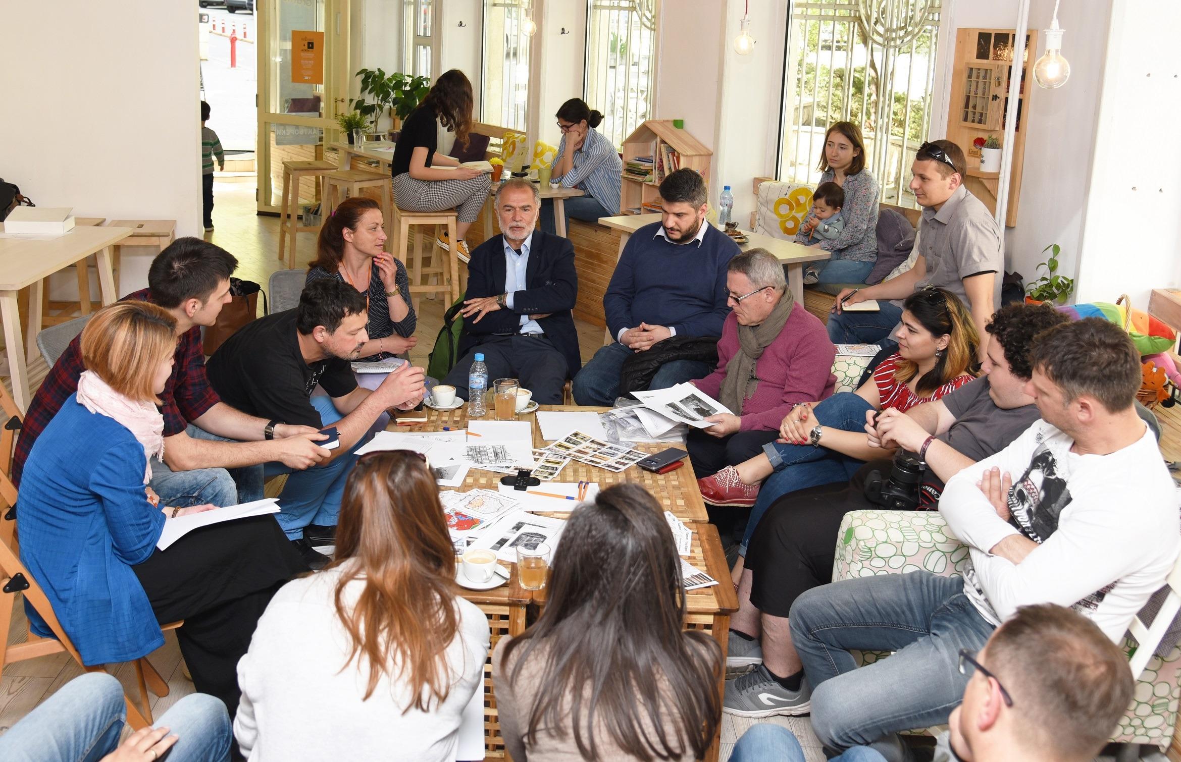 Събитие, което се проведе в Социалната чайна